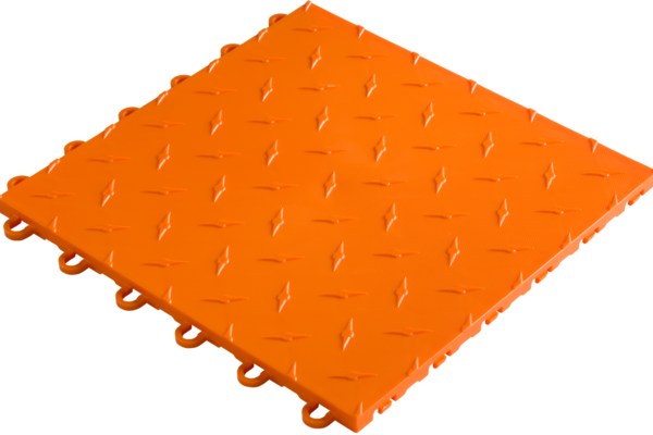 Revetement-sol-PVC-garage-grip-orange